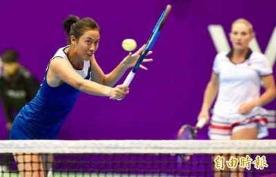 WTA台灣公開賽詹皓晴女雙四強 今日賽事預告與轉播