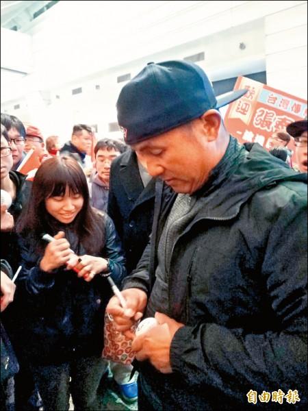 「台灣還有地方需要我」 張泰山返國再拚