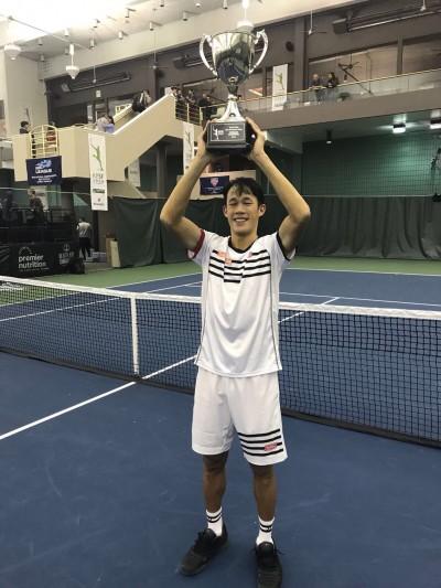 網球》世大運金牌莊吉生 奪生涯第三座挑戰賽冠軍