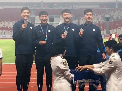 亞運測試賽》陳傑、楊俊瀚變隊友 測試賽千六接奪銀