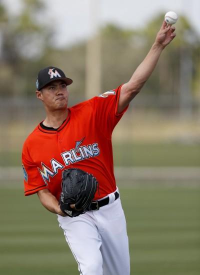 MLB》完全健康再復出 馬林魚「薪一哥」陳偉殷恐無緣開幕戰