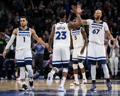 NBA》灰狼為傳奇教頭而戰 主場逆轉勝湖人
