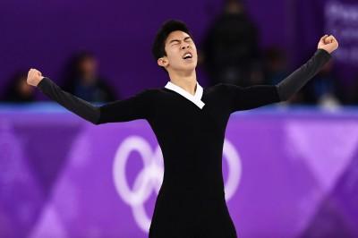 冬奧》甩失誤陰霾 華裔美籍小將陳巍完成6個四周跳創紀錄