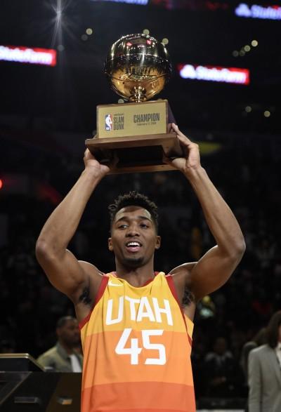 NBA》遞補出賽成灌籃冠軍 超級新人米契爾再寫驚奇