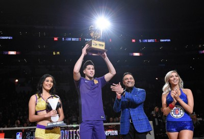 NBA》布克射破浪花兄弟紀錄 決賽28分摘下三分球大賽冠軍