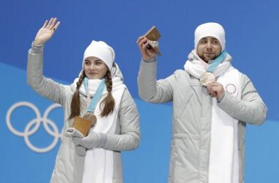俄羅斯混雙冰壺銅牌 「冬奧版裘莉」老公遭驗出禁藥