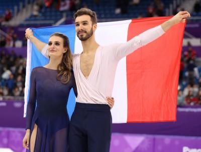 冬奧》走出露點風波 法國美女今天穿這樣奪銀(影音)
