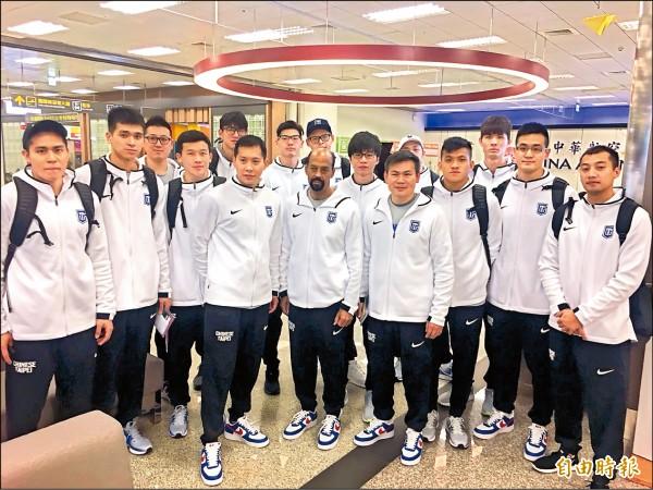 世界盃資格賽第2階段 台灣男籃明首戰抗日