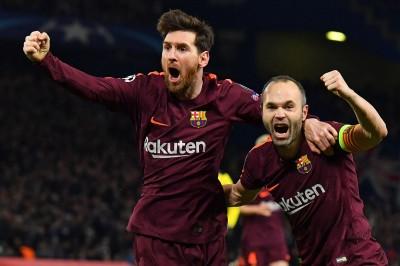 歐冠》梅西踢進追平球  巴塞隆納驚險踢平切爾西 (影音)