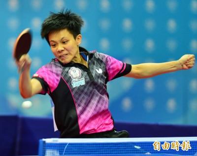 桌球》團體世界杯直落三收拾澳洲 台灣女隊開紅盤