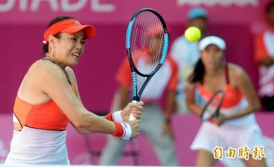網球》詹詠然杜拜女雙遭逆轉 4強無緣姊妹對決
