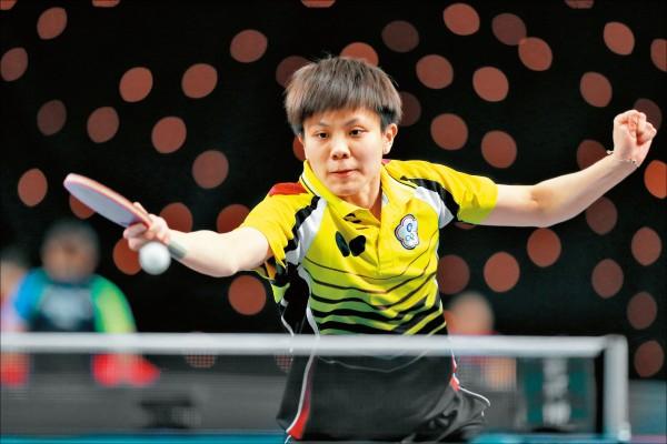 團體世界盃桌球賽》陳思羽挺身 台灣女桌闖進8強