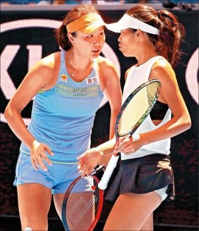 網球》謝淑薇晉杜拜雙打決賽 週六與詹皓晴人馬爭后