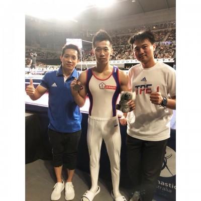 體操》墨爾本大獎賽 李智凱翻出雙「銀」