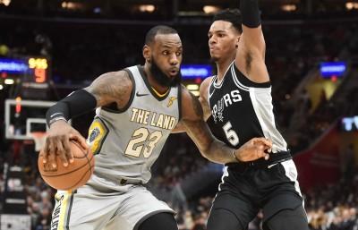 NBA》詹皇紀錄夜難眠  新騎士遭馬刺痛宰