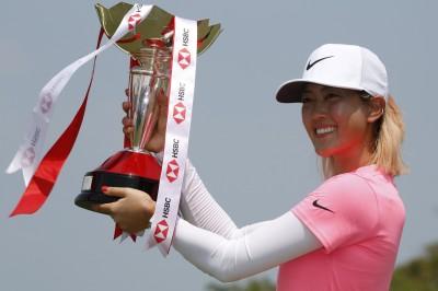 高爾夫》魏聖美關鍵一推進洞 打下HSBC世界女子錦標賽冠軍