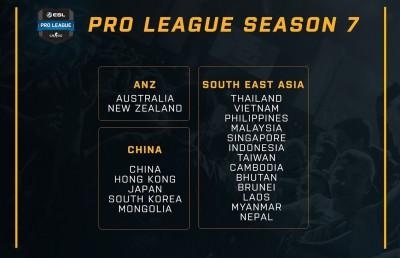 電競》ESL《CSGO》職業聯賽第七季加入亞太地區 台灣分至東南亞賽區