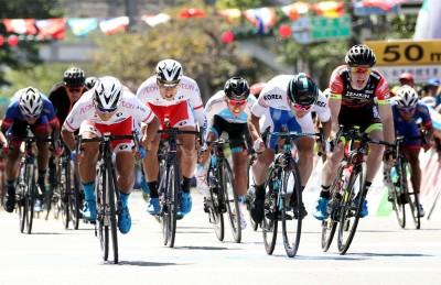 台灣隊盧紹軒領騎超過40公里 日本小將終點逆襲囊括所有衫