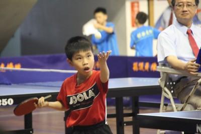 自由盃國小組團體桌球錦標賽 北市仁愛奪女生10歲及11歲雙冠