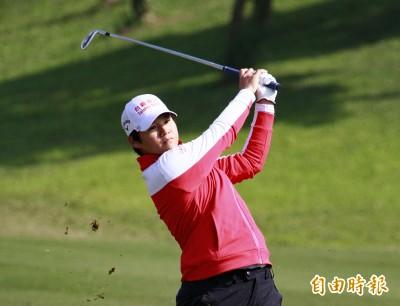 LPGA創建者盃》首回合遇上怪天氣 4台灣女將都沒打好