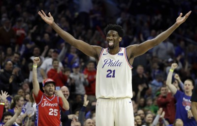 NBA》恩比德近「雙二十」表現 七六人賞籃網三連敗