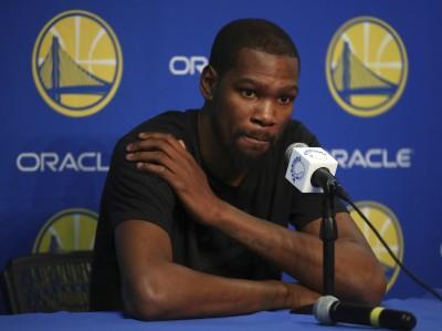 NBA》勇士「傷」不停!杜蘭特受傷 四巨頭只剩1人