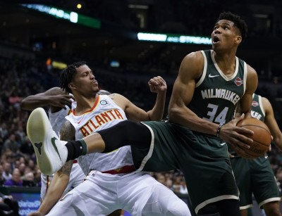 NBA》字母哥、米德爾頓連線  公鹿主場賞老鷹6連敗