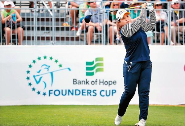 LPGA創建者盃》朴仁妃領先 妮妮並列66