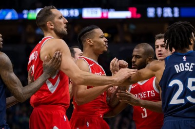 NBA》推人引爆衝突!火箭擊敗灰狼收5連勝(影音)