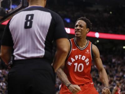 NBA》扯!最後8秒3人遭逐出場   暴龍中斷11連勝