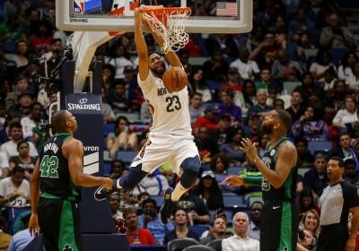 NBA》一眉哥砍34分 鵜鶘撞翻綠衫軍