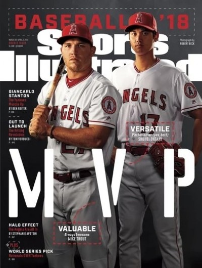 MLB》運動畫刊「封」大谷 隊友自嘲沾光