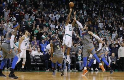 NBA》莫里斯1.2秒逆轉三分彈 綠衫軍斷雷霆6連勝(影音)