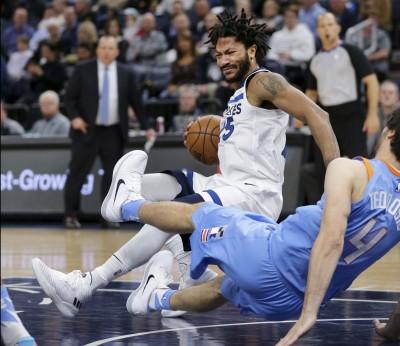 NBA》飆風玫瑰又傷!湯斯砍30分率灰狼撞翻快艇