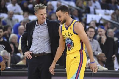 NBA》勇士四星全受傷 柯爾:柯瑞會最快回來