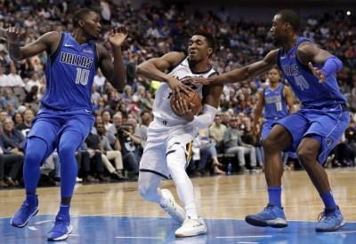 NBA》先發五虎得分皆上雙 爵士送獨行俠4連敗