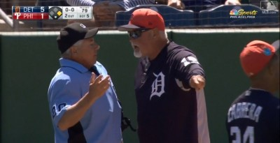 MLB》熱身賽火氣大 費城人、老虎之戰共5人遭趕出場(影音)