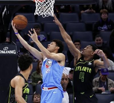 NBA》傑克森飆生涯新高 國王輕取老鷹