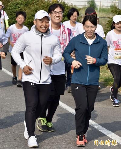 「幸福路跑團」550人為健康而動 郭婞淳也來跑步