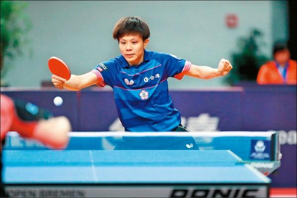 德國桌球公開賽》橫掃中國好手 鄭怡靜躋身8強