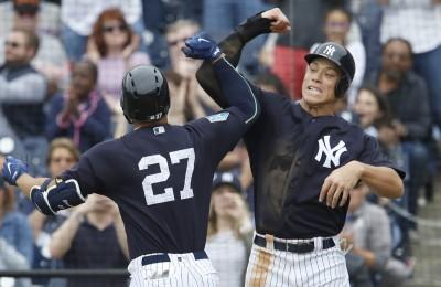 MLB》與法官連線成功 史坦頓扛超大轟直擊記分板(影音)