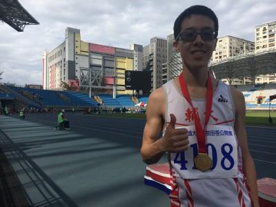 田徑》輔大乙組400公尺狂人 大專盃跑贏甲組金牌
