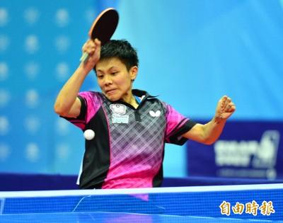 亞洲盃桌球賽》鄭怡靜八強門票到手 三台將明爭取晉級