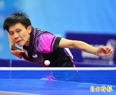 亞洲盃桌球賽》鄭怡靜無緣爭冠 仍締造一項紀錄