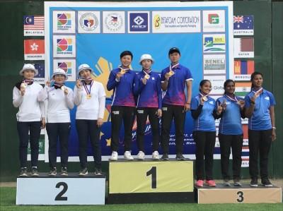 2018亞洲盃公開賽第二站 竹市射箭女將奪金返鄉
