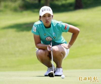 日本LPGA》KTT盃Vantelin女子公開賽第1回合 姚宣榆暫列第4