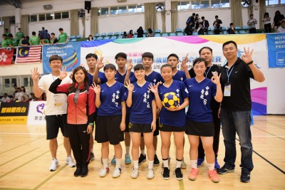 U19、U16亞洲四人制合球錦標賽 台灣隊單日笑擁雙金