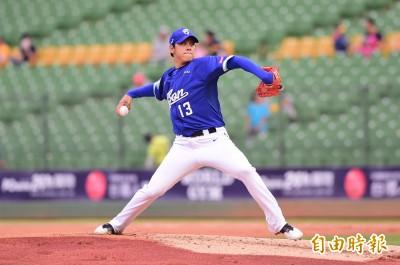 中職》暫居防禦率王  陳鴻文:有機會投球我就很開心