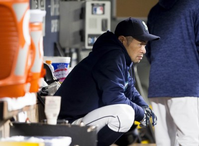 MLB》美媒示警!鈴木一朗恐遭水手戰力外