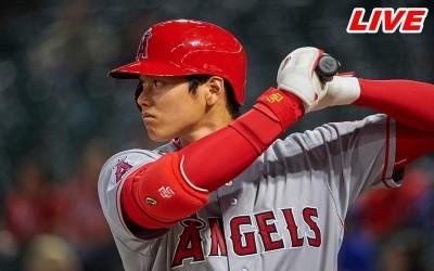 MLB Live》大谷首打席內滾出局 紅襪1:1天使